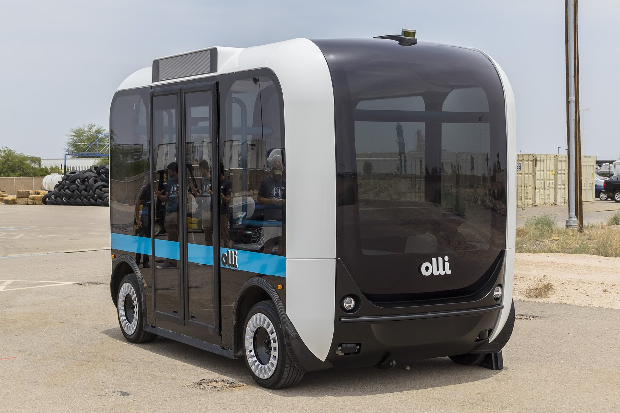 Meet Olli A Self Driving 3d Printed Mini Bus Controlled