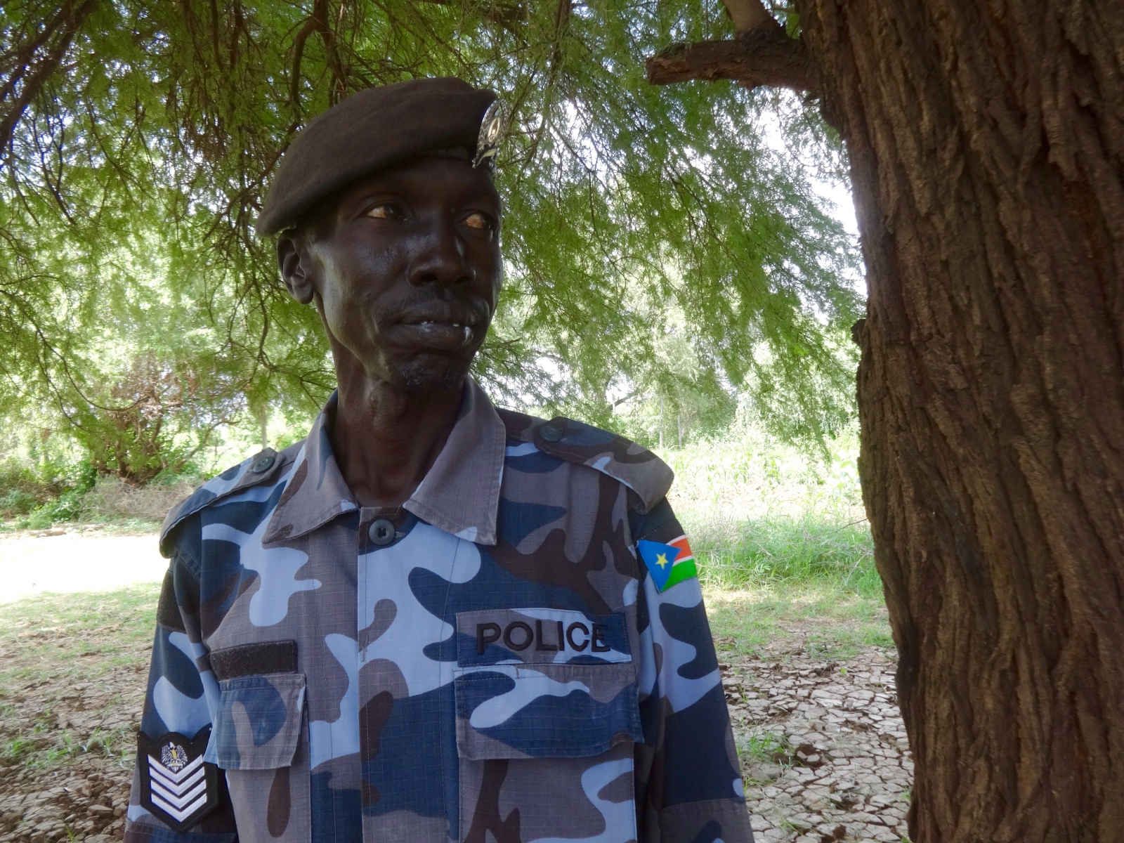 South Sudanese border official