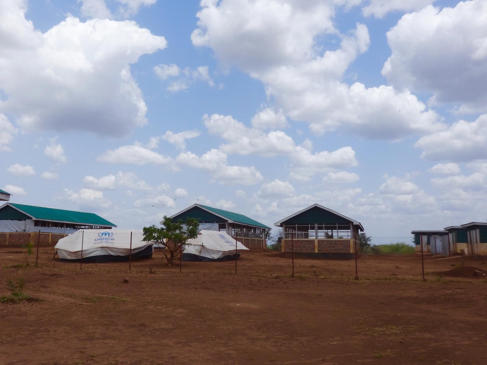 Nadapal Reception centre for asylum seekers