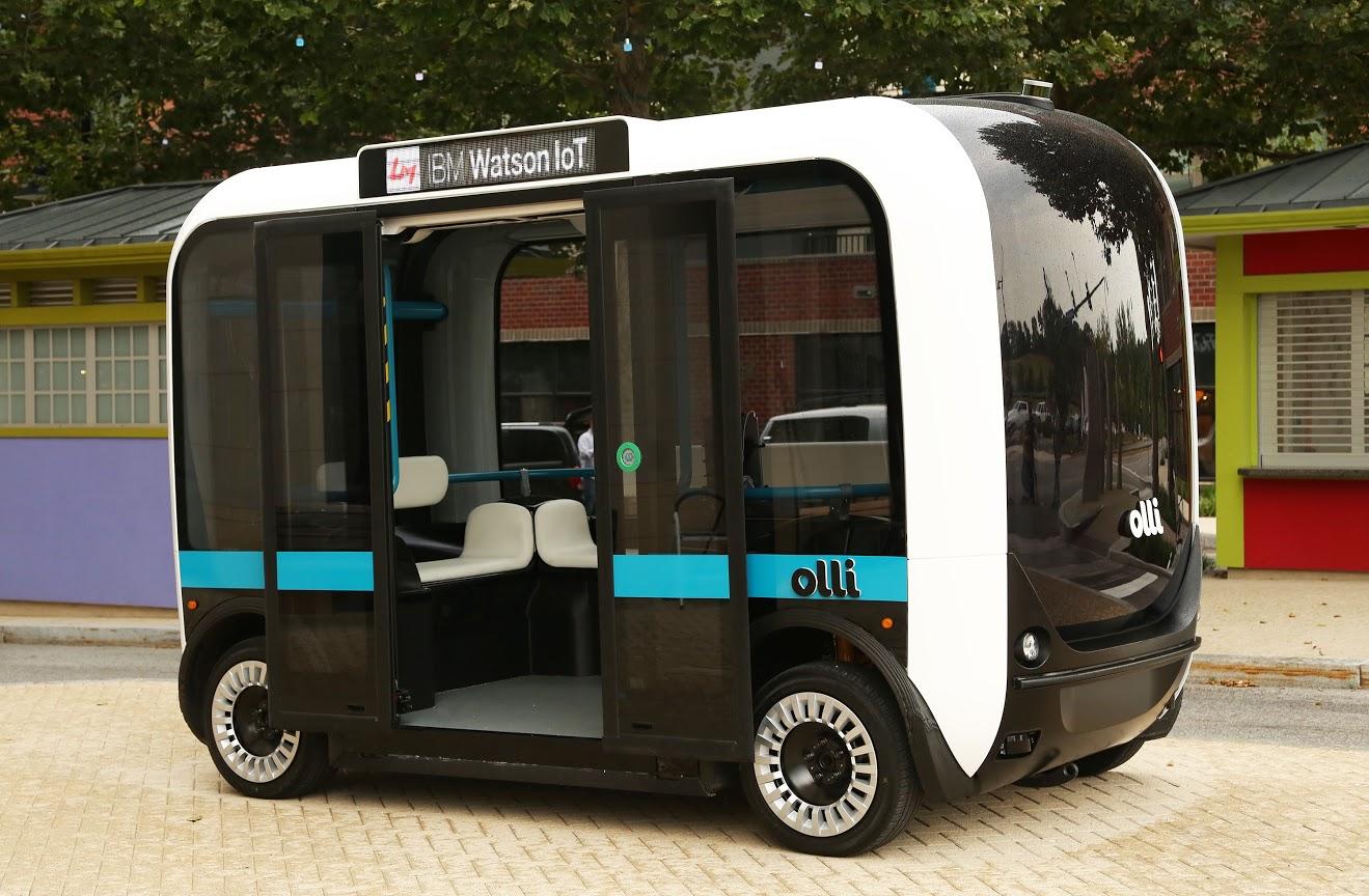 Meet Olli, a self-driving 3D printed mini bus