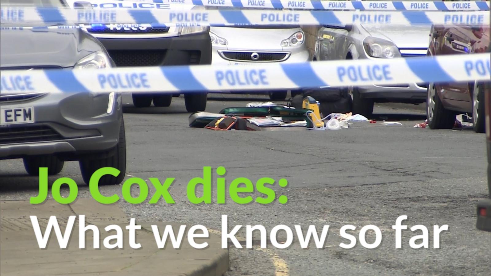 Jo Cox dies