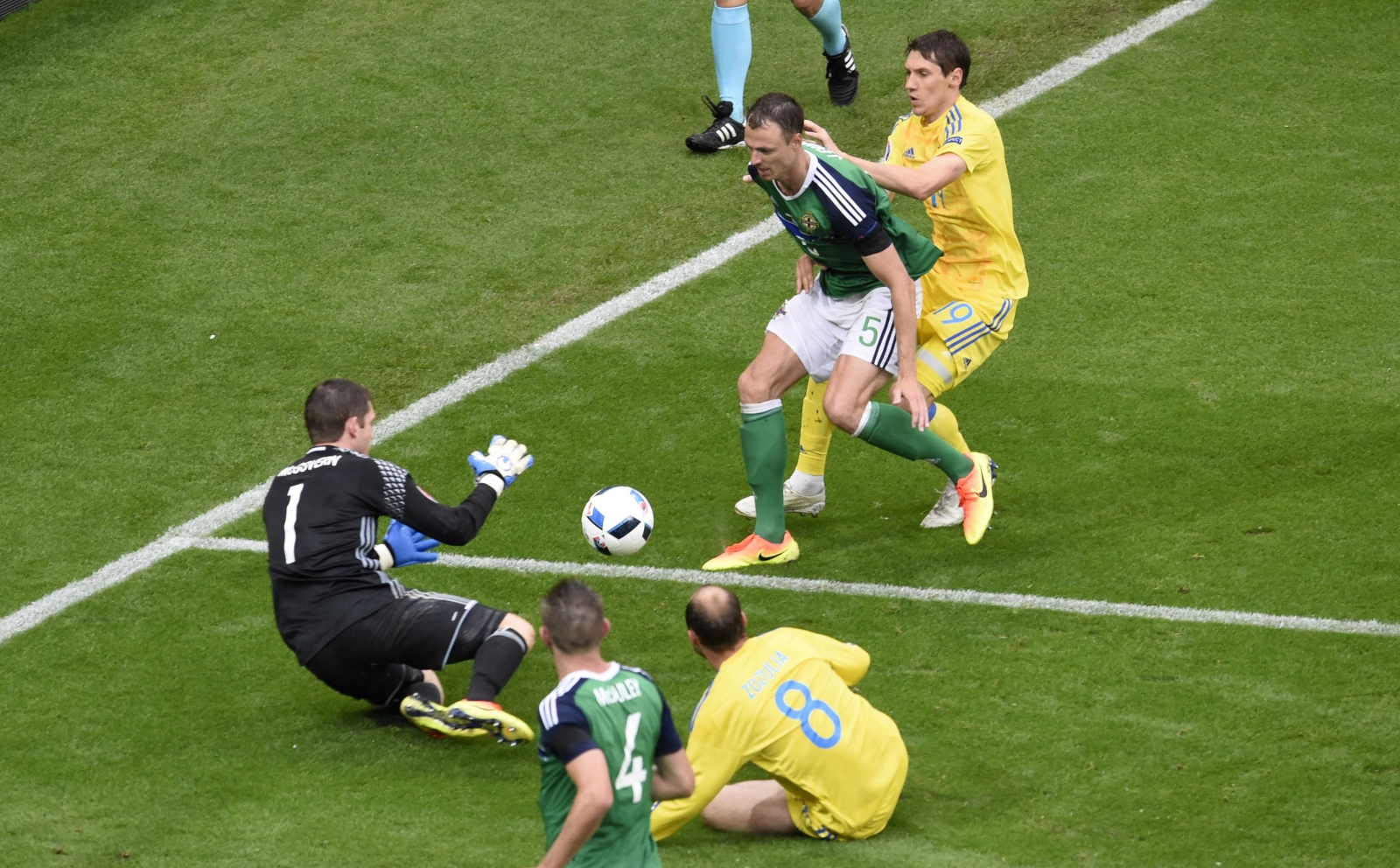 Ukraine vs Northern Ireland