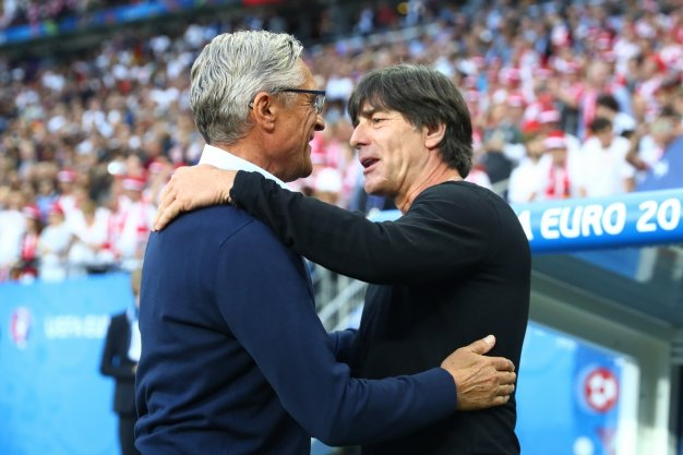 Adam Nawalka and Joachim Loew