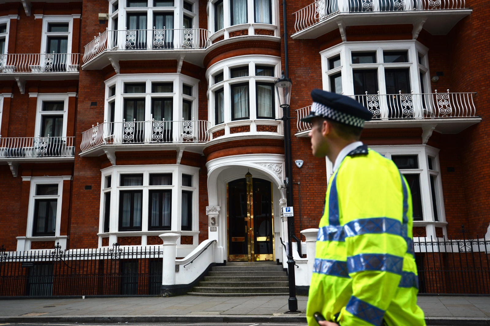 Julian Assange and the Ecuadorian embassy