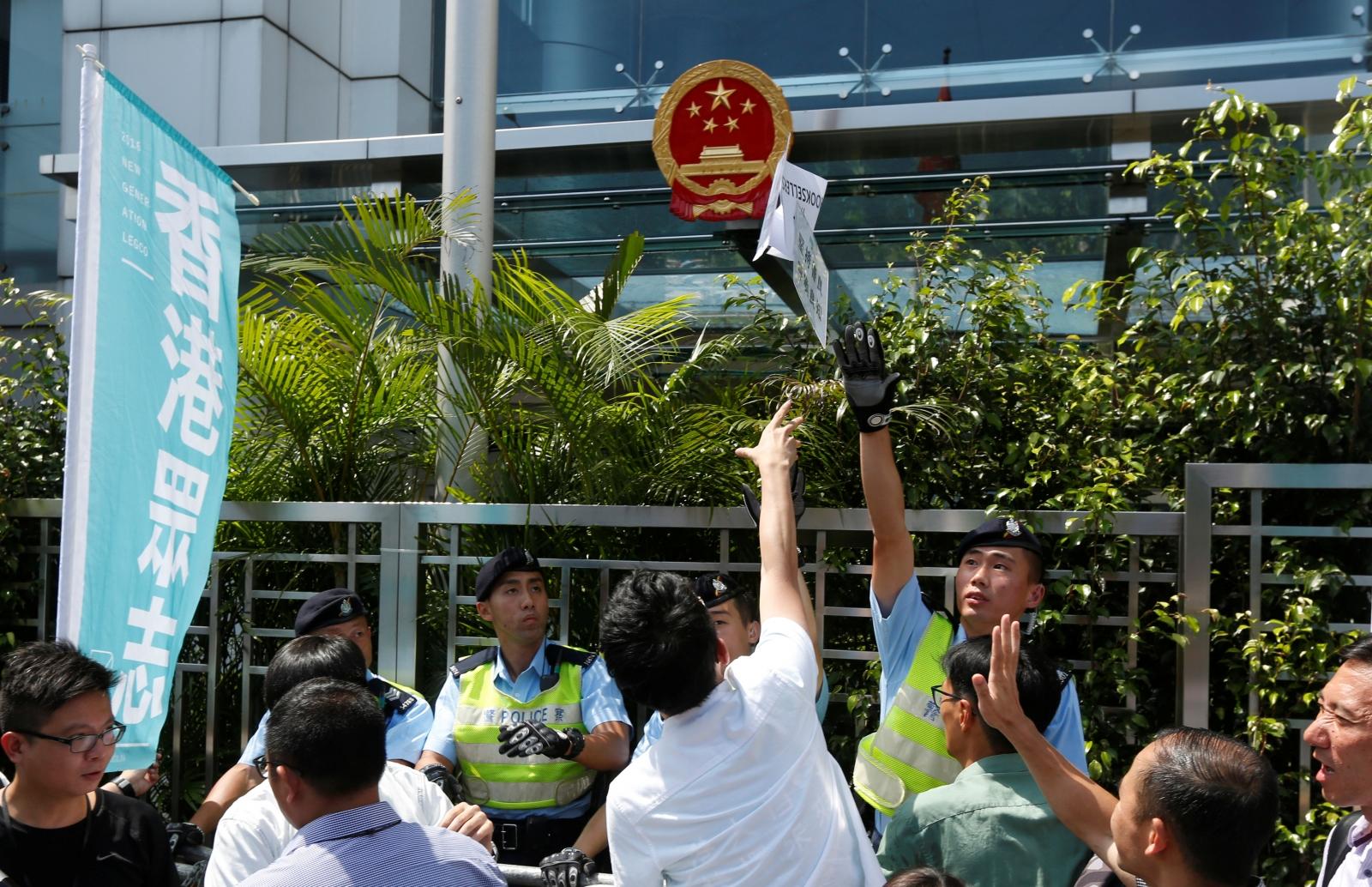Hong Kong bookseller abduction