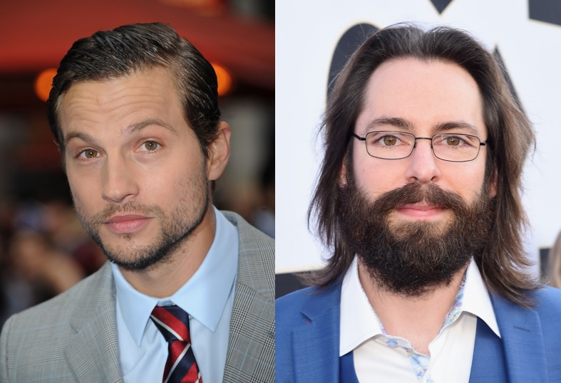 Logan Marshall-Green and Martin Starr