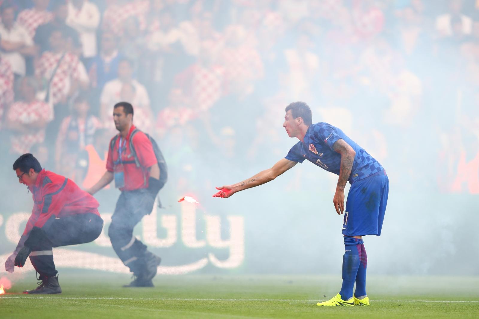 Croatia flares