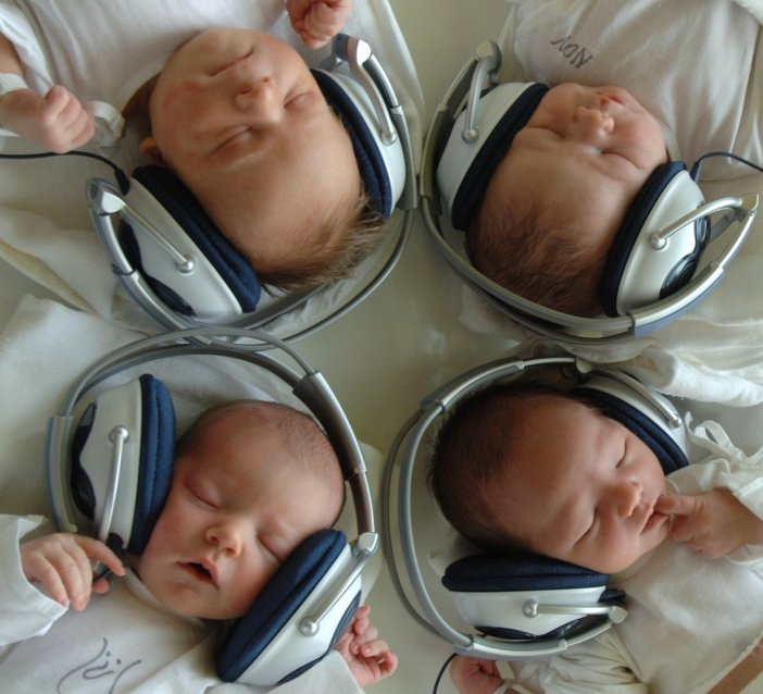 Babies music headphones