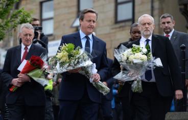 David Cameron Jeremy Corbyn Jo Cox Tribute