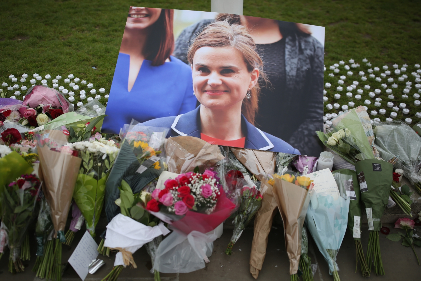 Jo Cox tribute Memorial