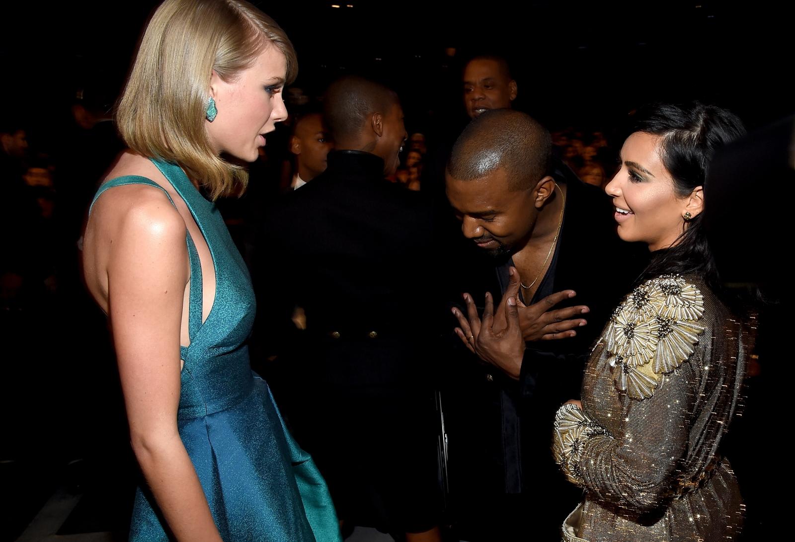 Kim Kardashian and Taylor Swift