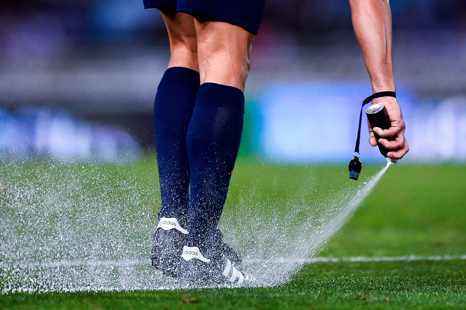 Football referee banned from football