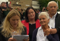 Jo Cox\'s family pay tribute in Bristall