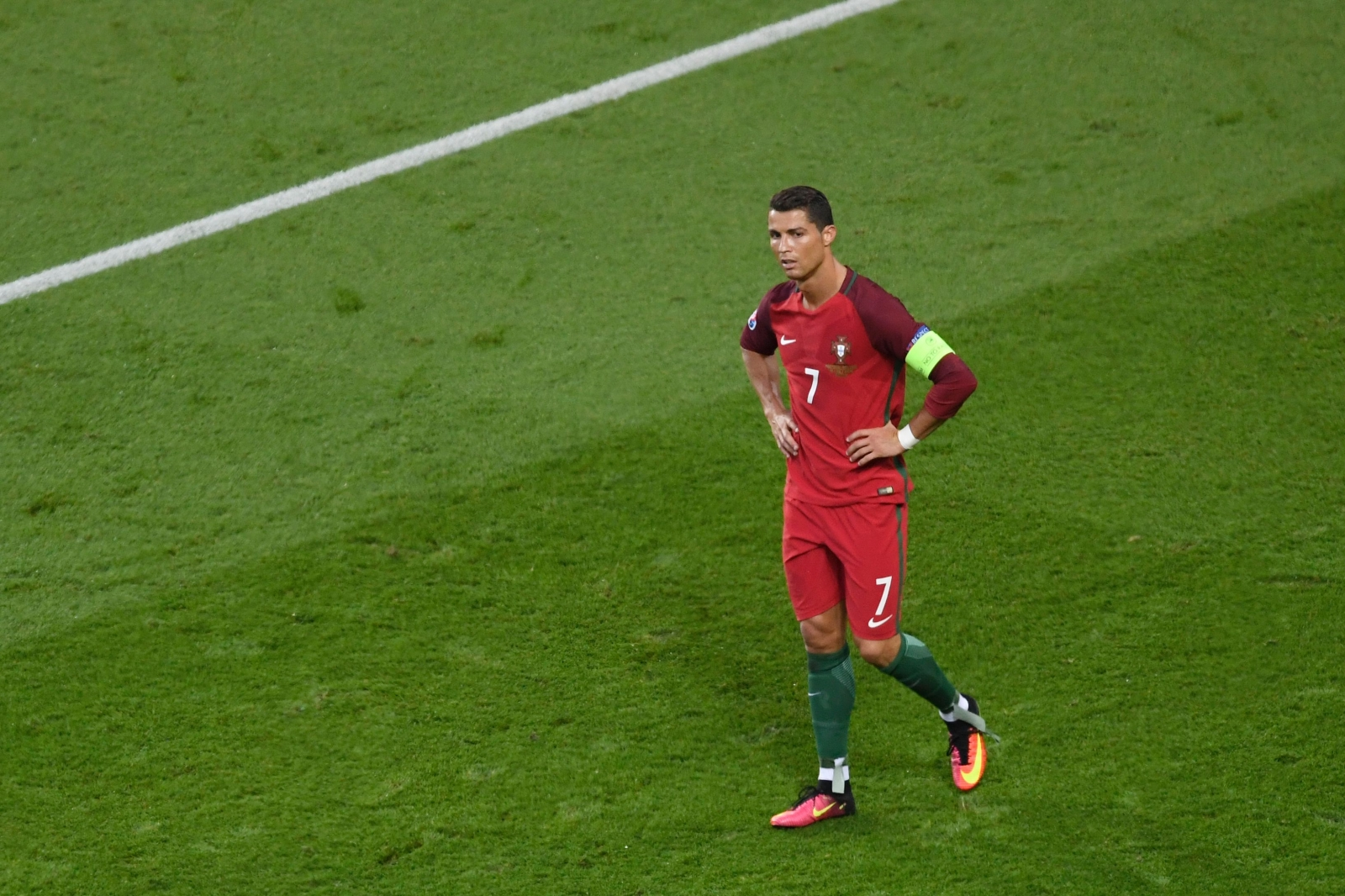 Ronaldo bemoans a decision