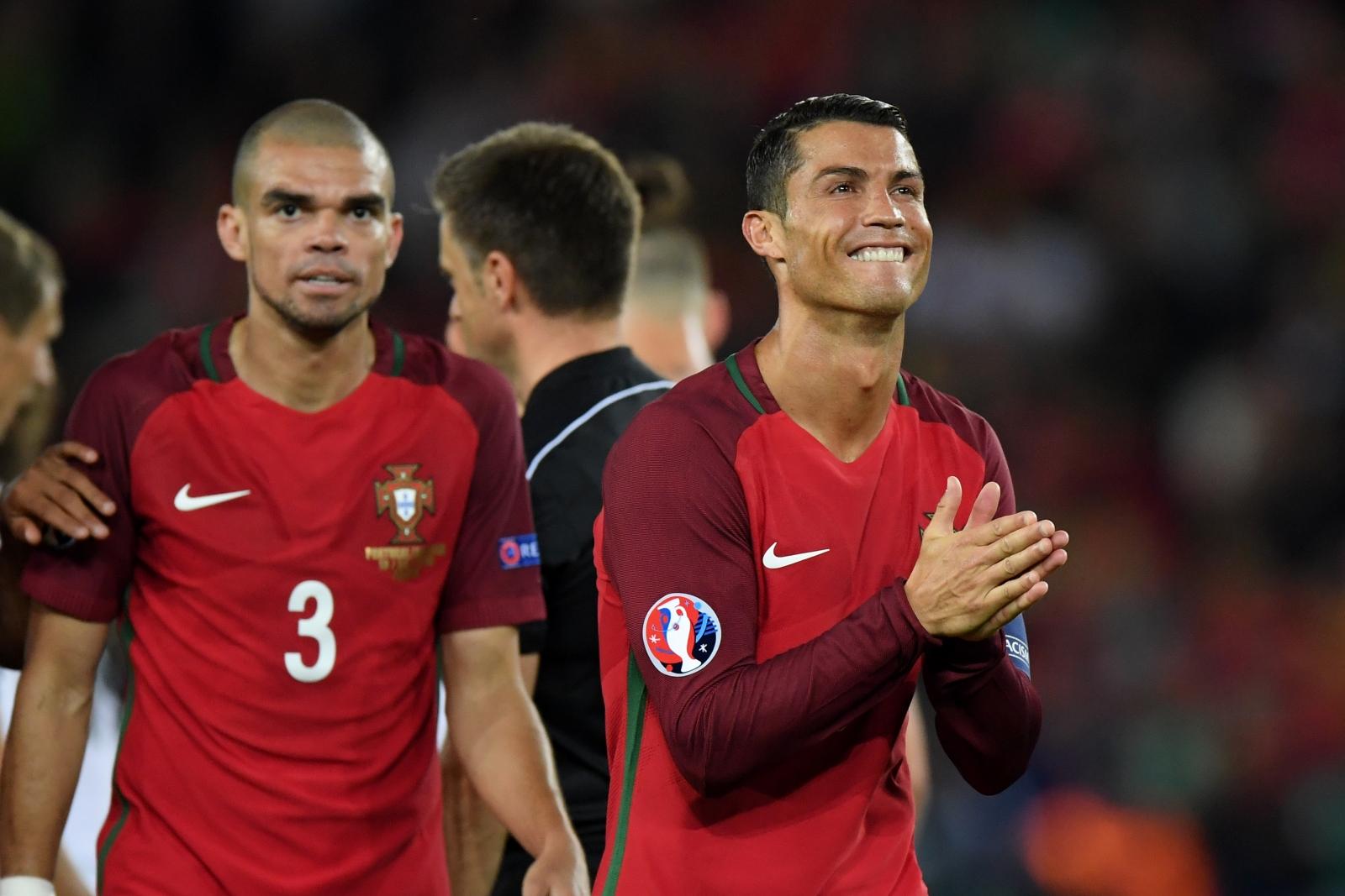 Ronaldo is awarded a penalty