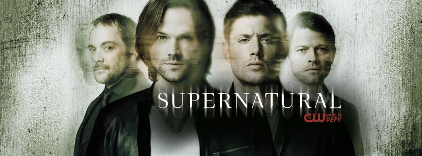 Supernatural season 12: Jensen Ackles and Misha Collins ...Supernatural Tv Show