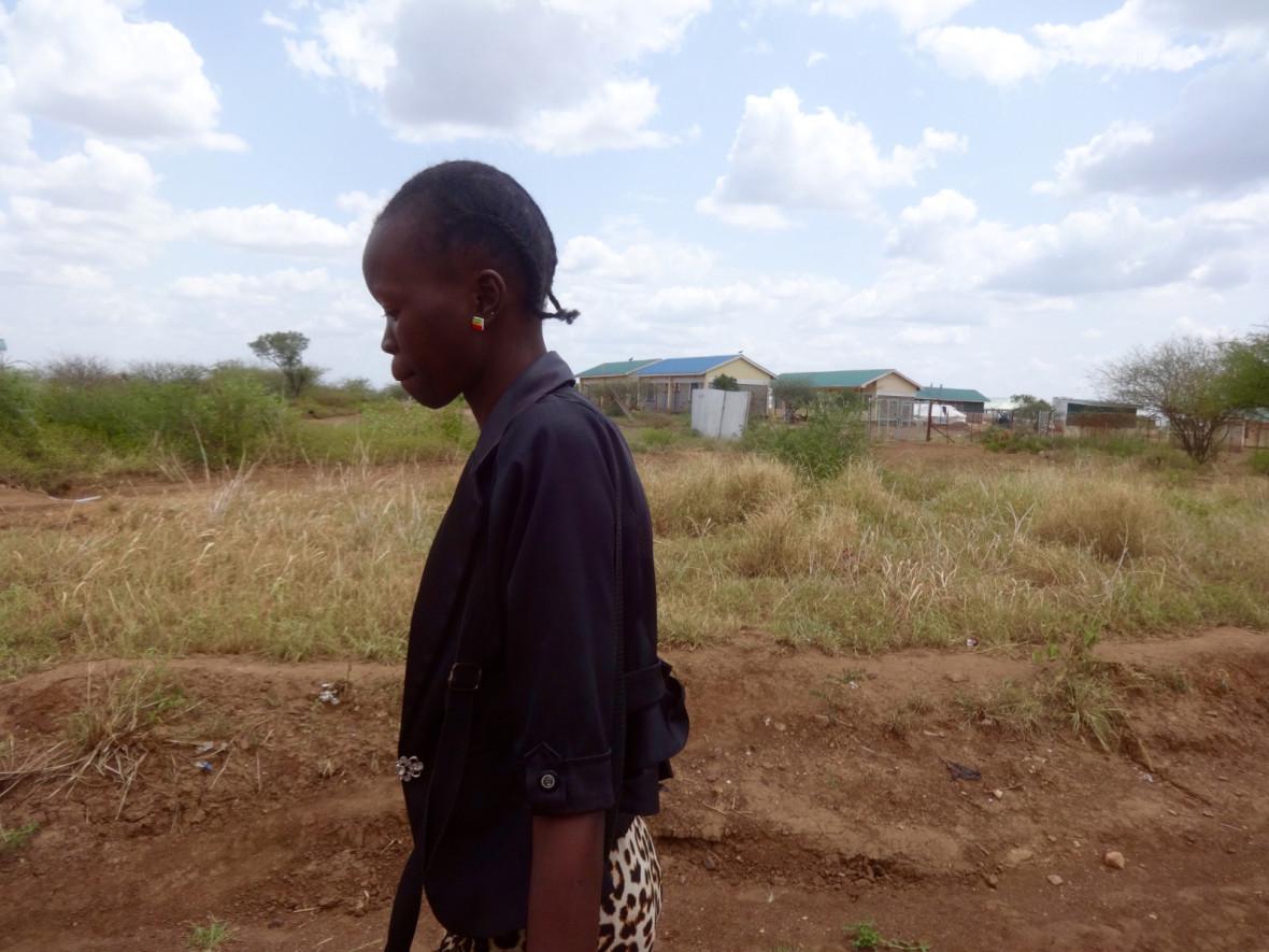 South Sudanese asylum seeker in Kenya