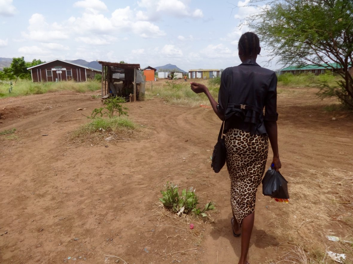 South Sudanese asylum seeker in Kenya