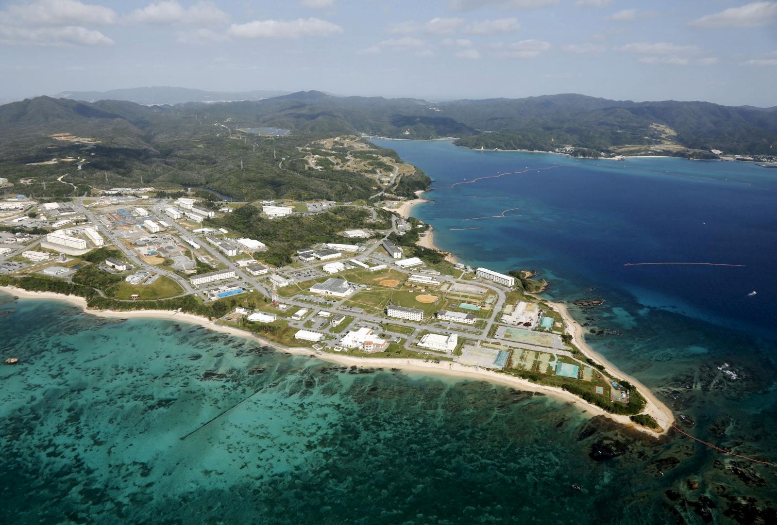 Southern Japanese island of Okinawa