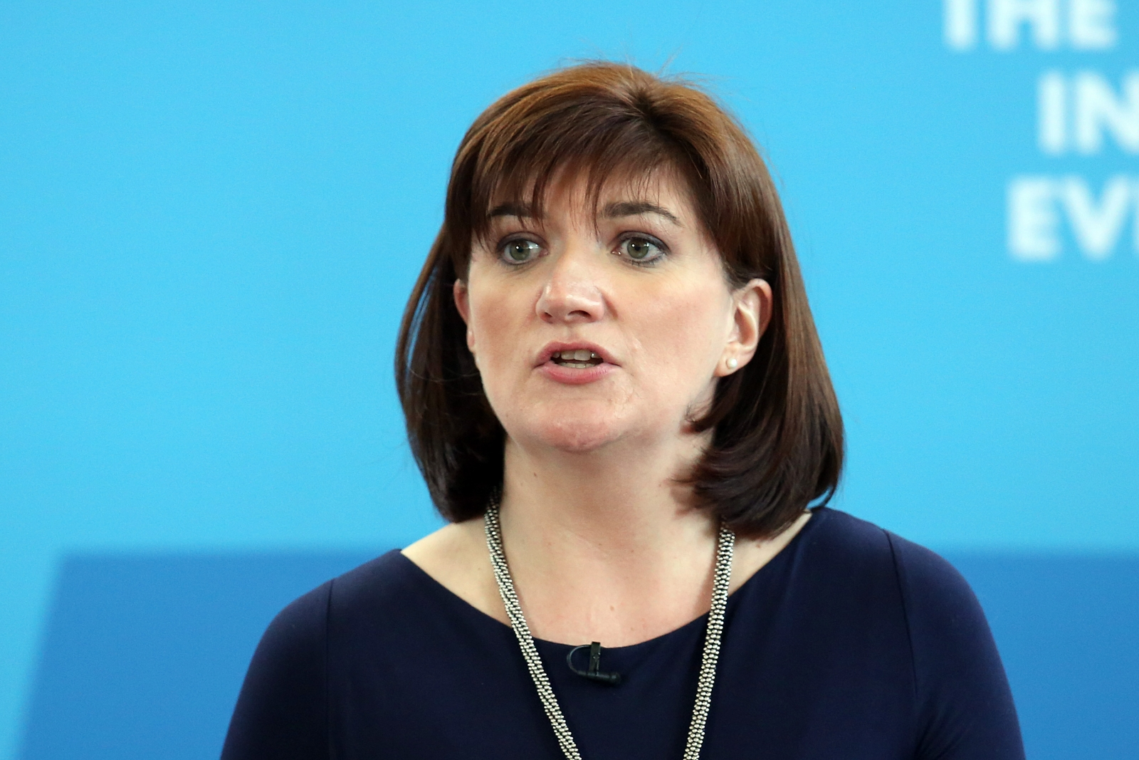 Nicky Morgan to install panic button