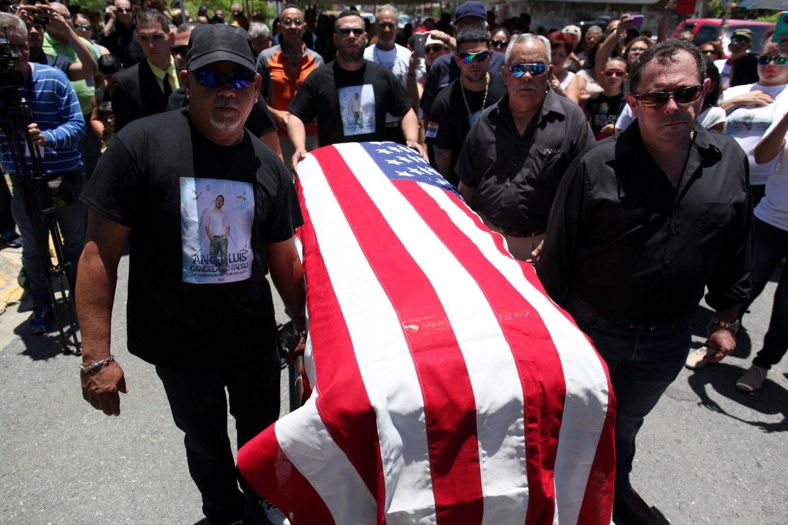 Orlando gay nightclub shooting funeral