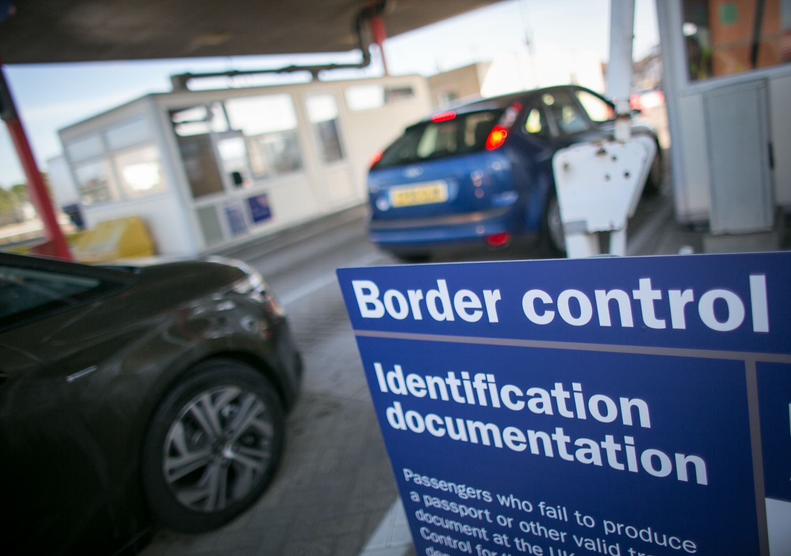 UK port border control
