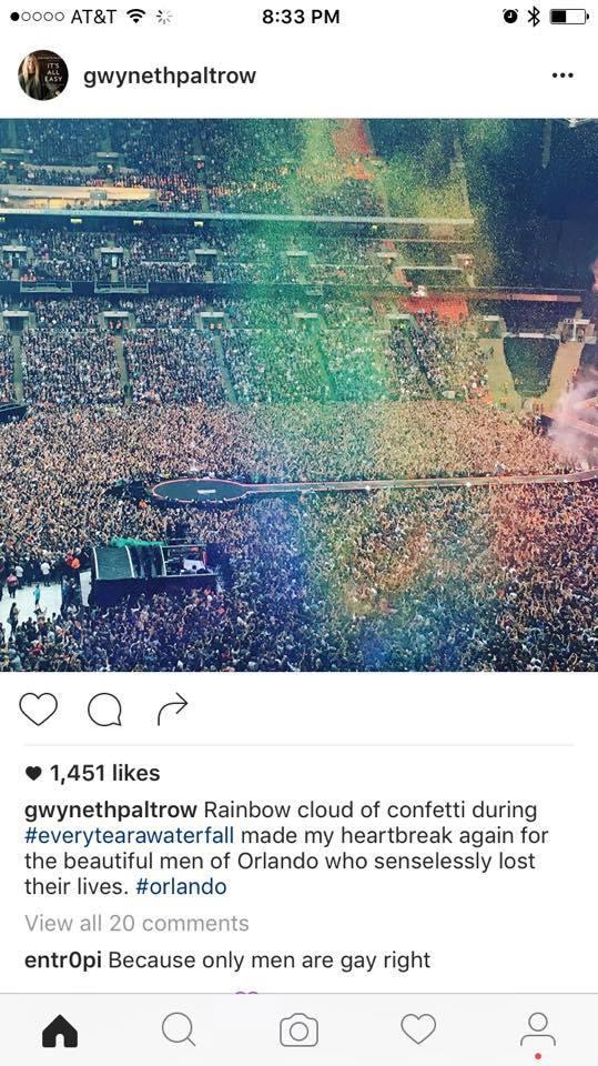 Gwyneth Paltrow's instagram