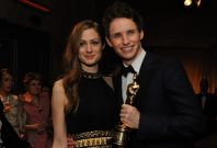 Eddie Redmayne and wife Hannah Bagshawe