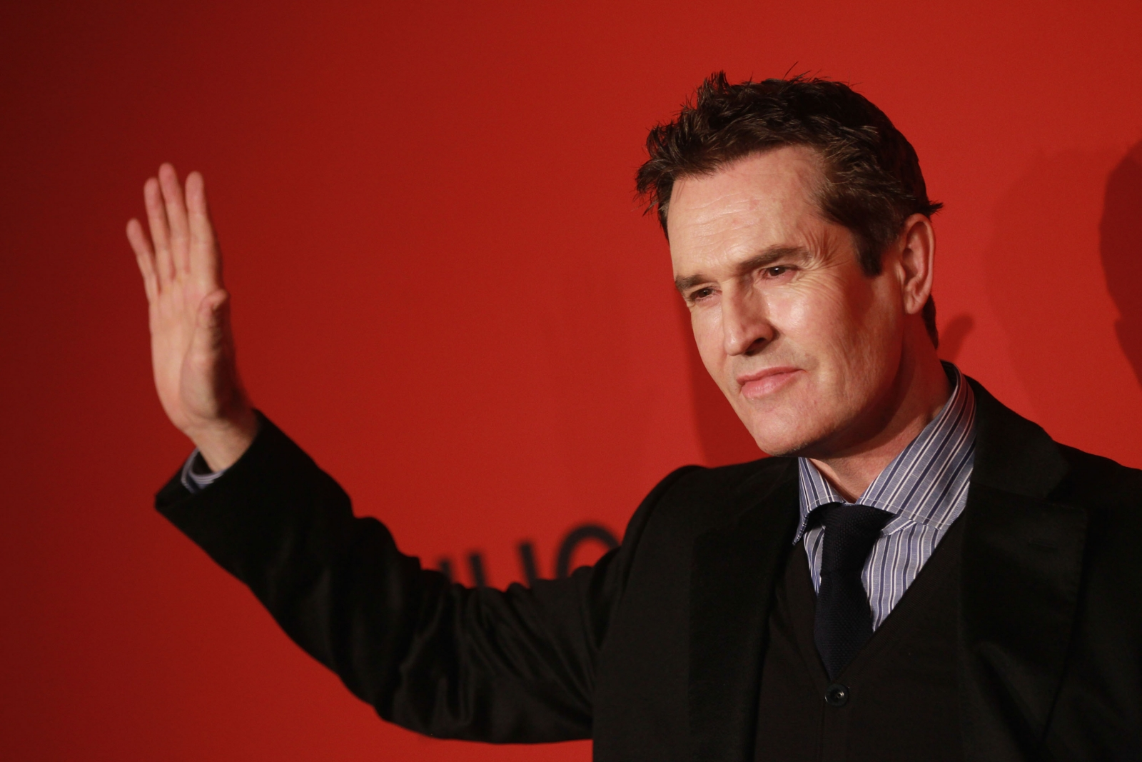 Rupert Everett at Hugo Boss show