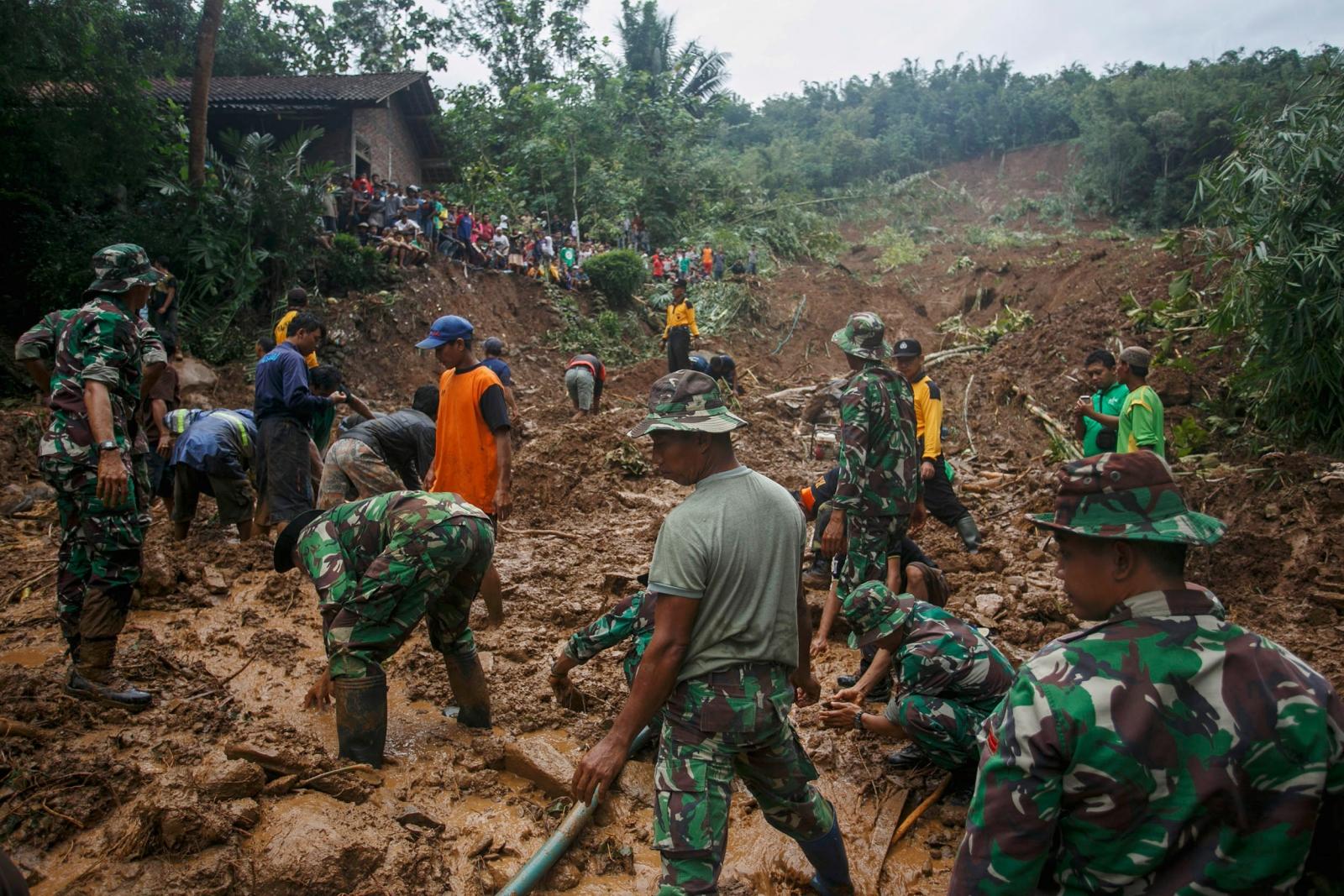 Indonesian landslides