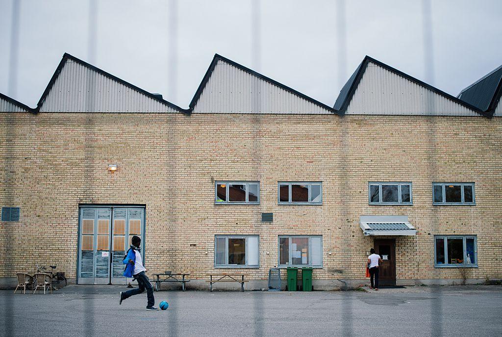 Refugee accommodation near Stockholm