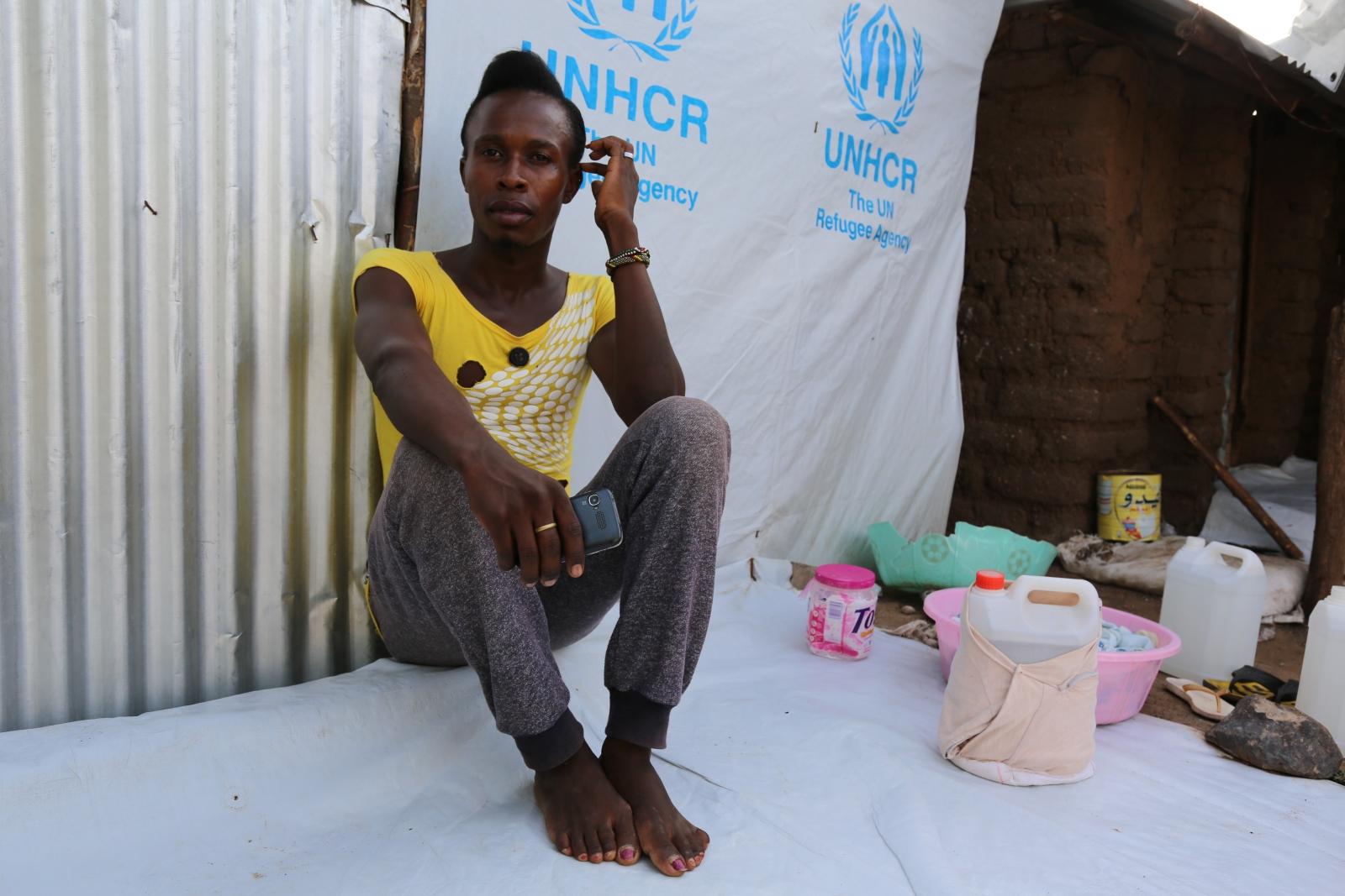 Ugandan LGBT in Kakuma refugee camp