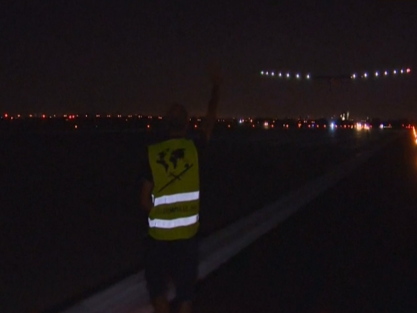 Solar Impulse takes off from New York