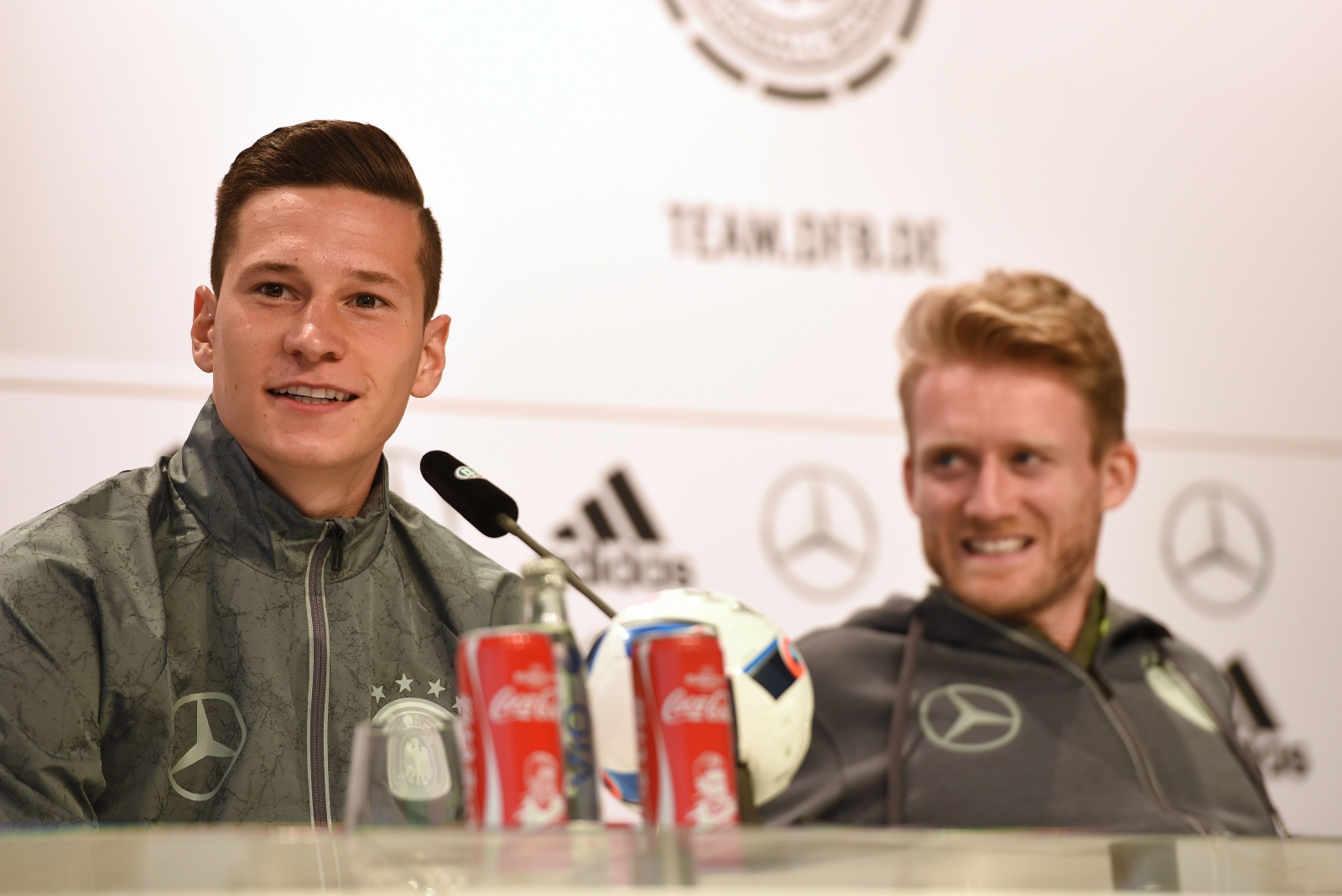 Julian Draxler and Andre Schurrle