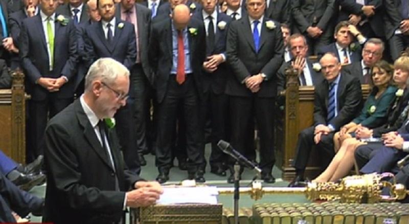 Jeremy Corbyn leads tributes to Jo Cox