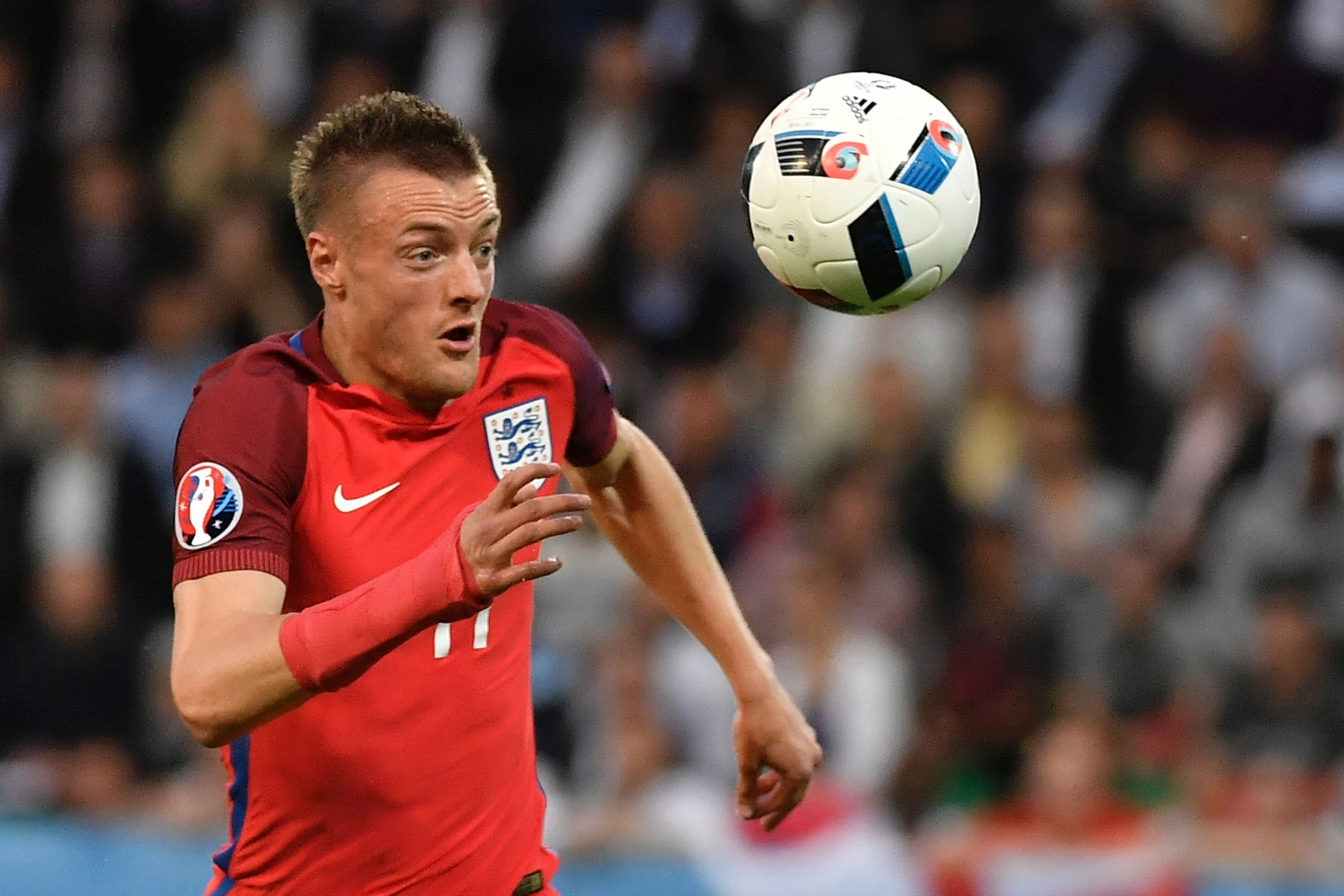 Jamie Vardy starred in the first-half