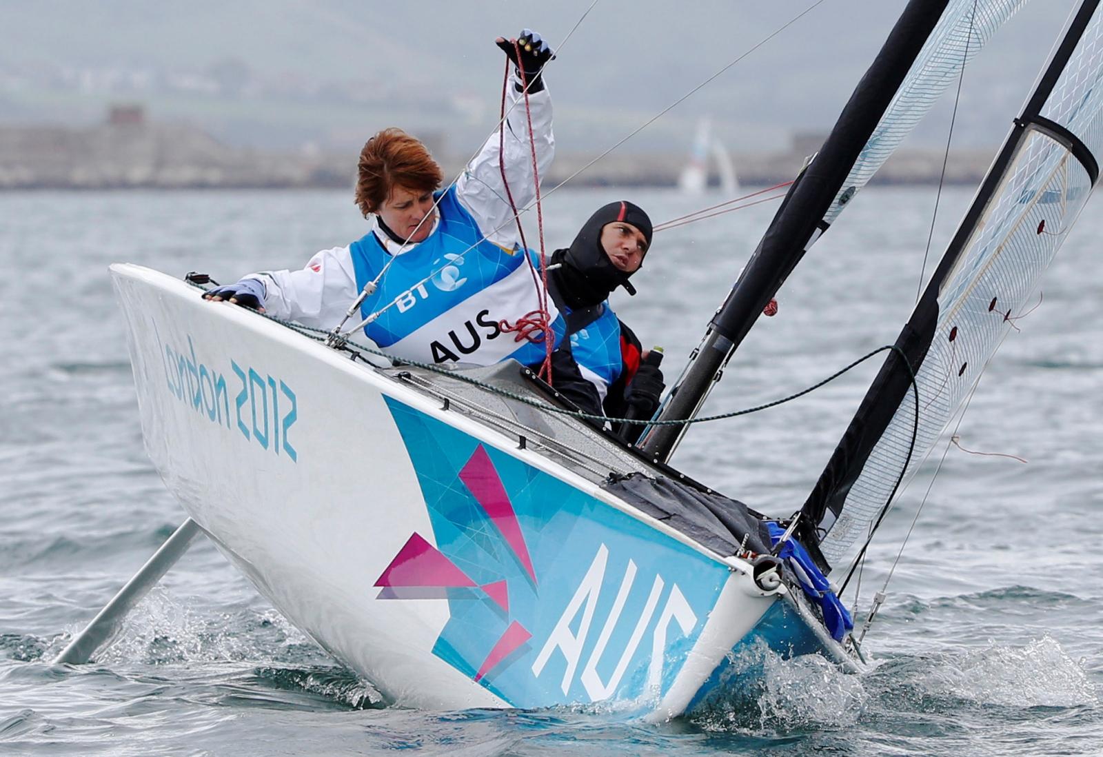 Australian Paralympic Sailor Liesl Tesch