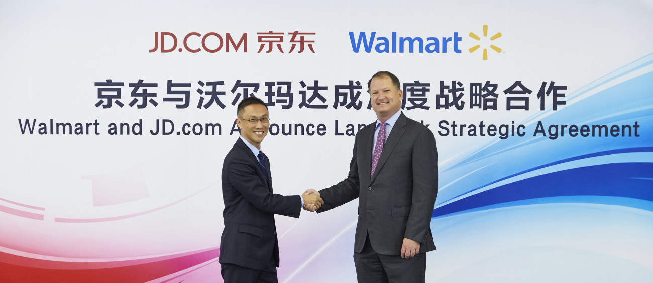 Walmart to sell its Chinese e-commerce arm to Alibaba's rival, JD.com