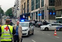 Brussels alert