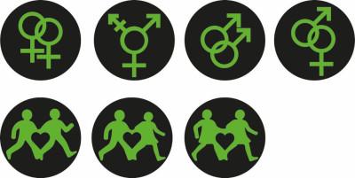 LGBT Pride traffic lights