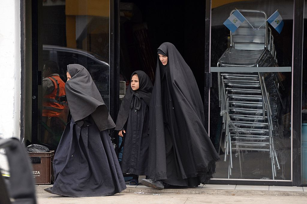 Female members of the ultra-Orthodox Lev Tahor