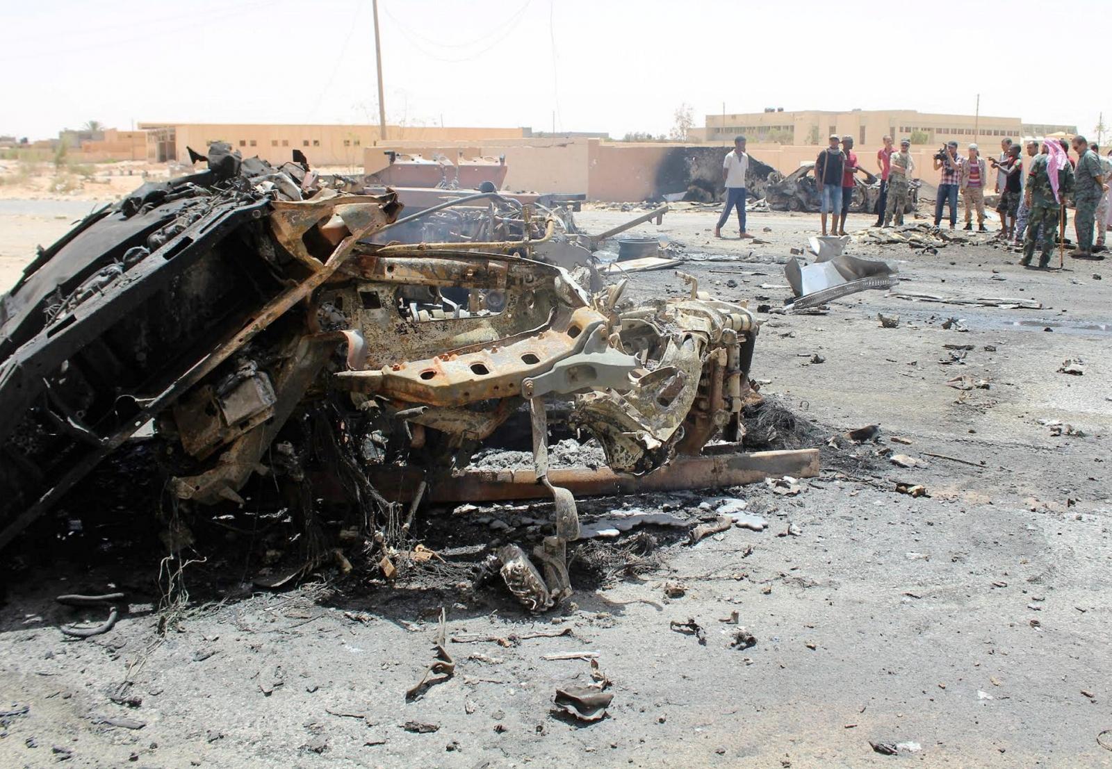 Garabulli explosion Libya Isis 2016