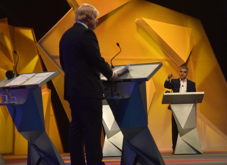 Boris Johnson and Sadiq Khan