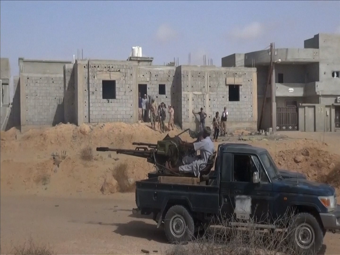 Lybia forces advance in IS stronghold of Sitre