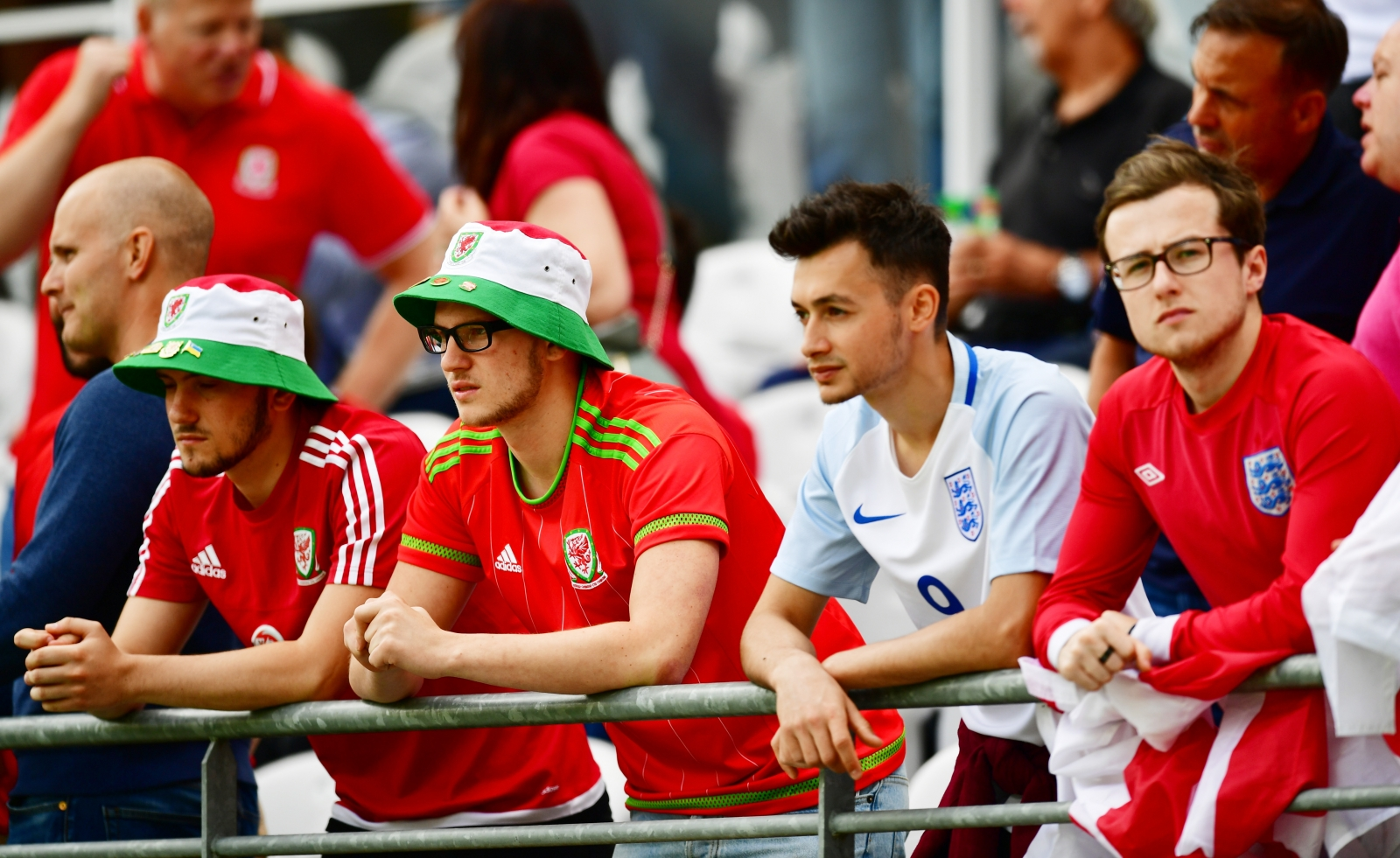 England and Wales fans