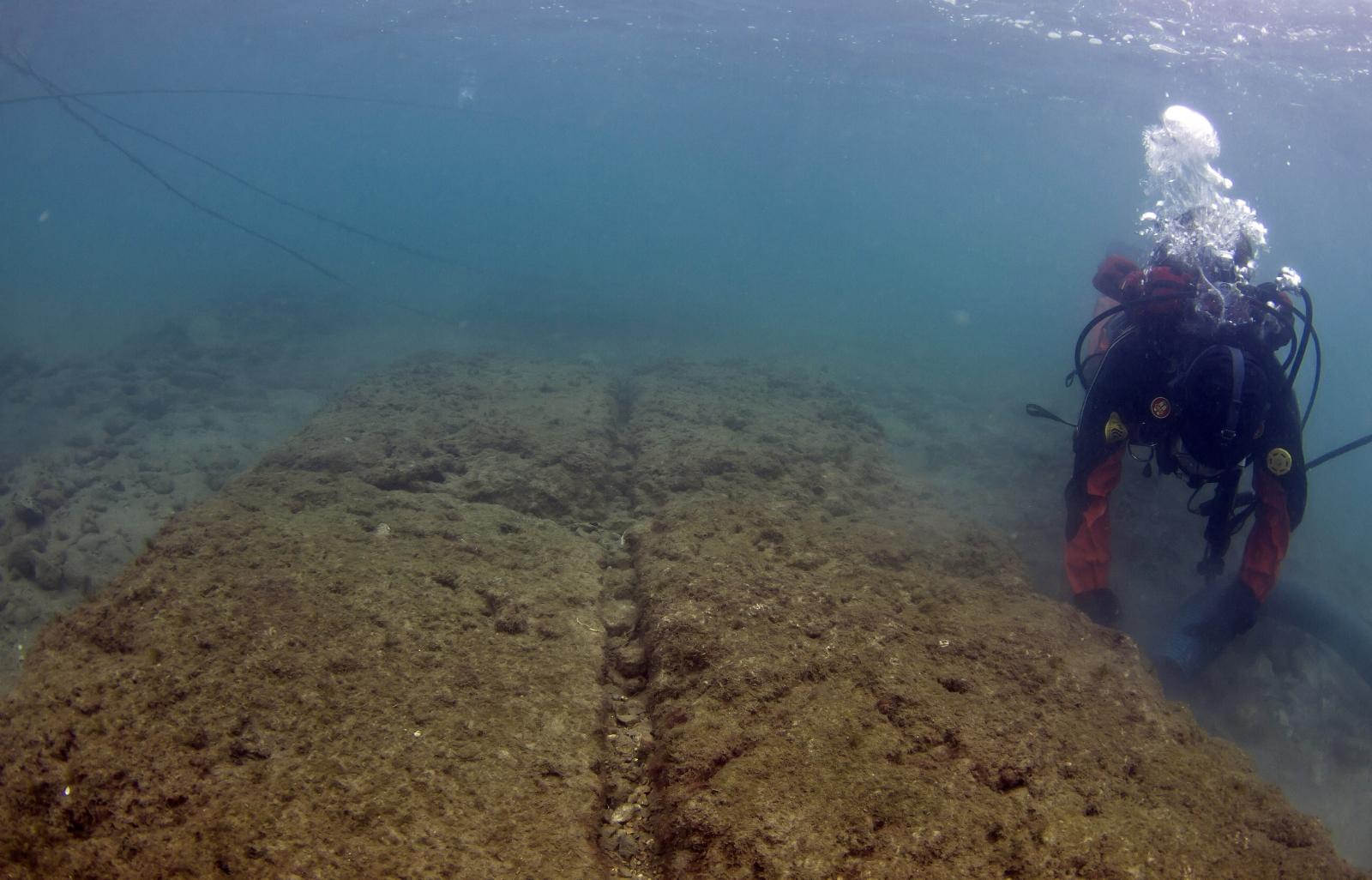 underwater archaeology Greece