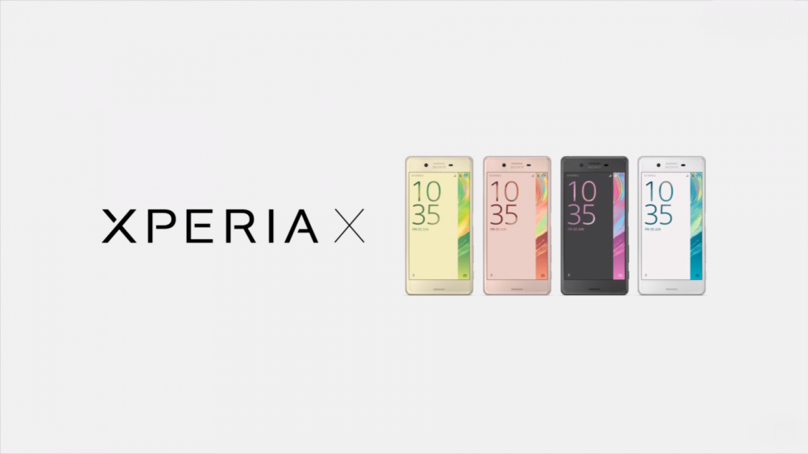 Sony Xperia X review colours UK