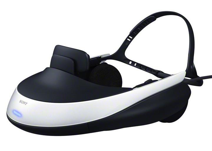 Sony 3d virtual reality headset