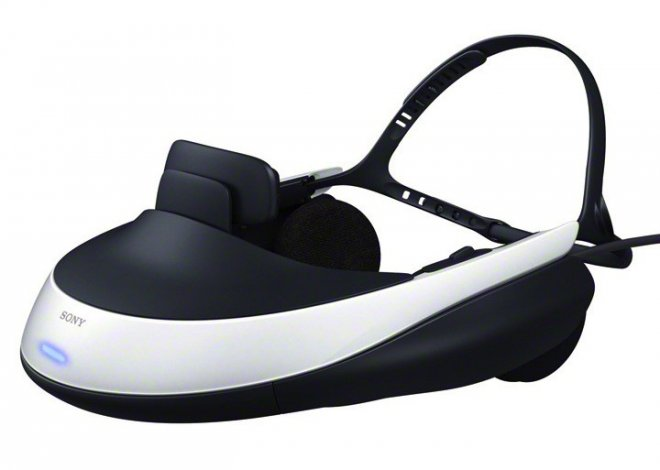 Sony Set to Release Personal 3D Virtual Reality Visor for PlayStation 3, Blu-Ray Player Devices