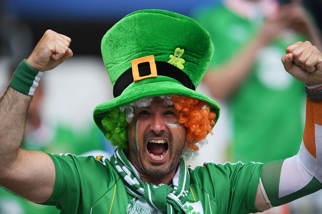 Irish antics at Euro 2016